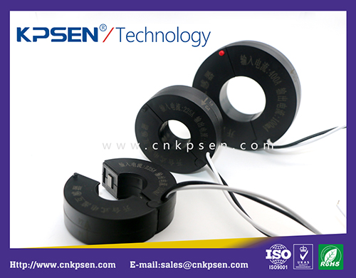 Opening and closing current transformer (round)